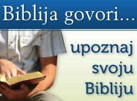 Biblija govori